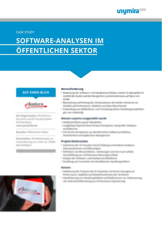 Case Study: Software Analysen im öffentlichen Sektor