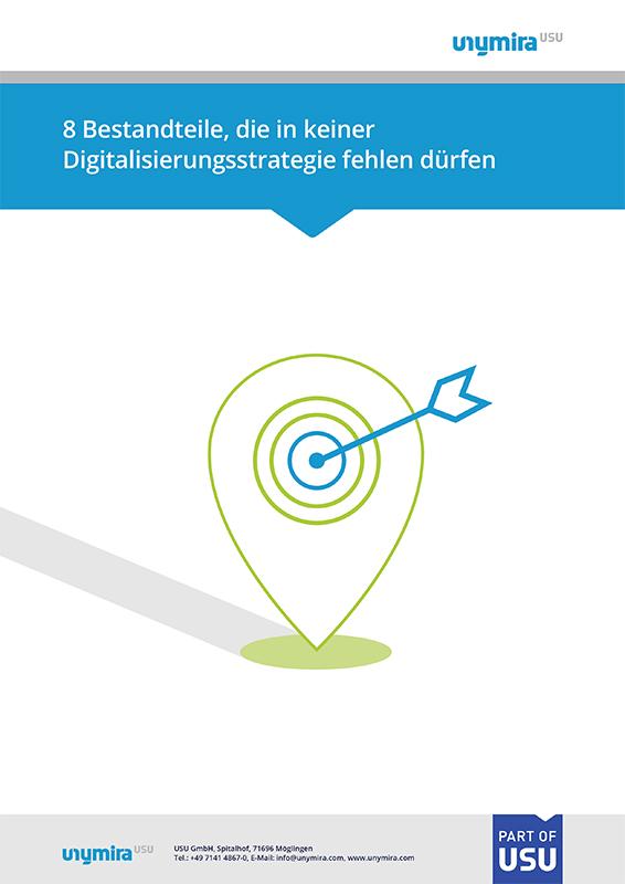 Infografik - Bestandteile, die in keiner Digitalisierungsstrategie fehlen dürfen