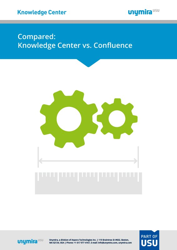 Compared: Knowledge Center vs. Confluence
