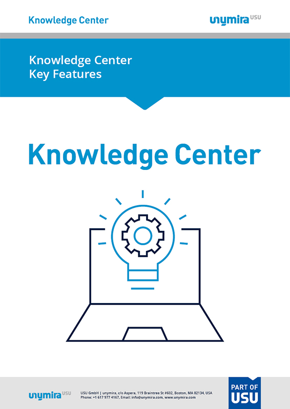 Features of Knowledge Center