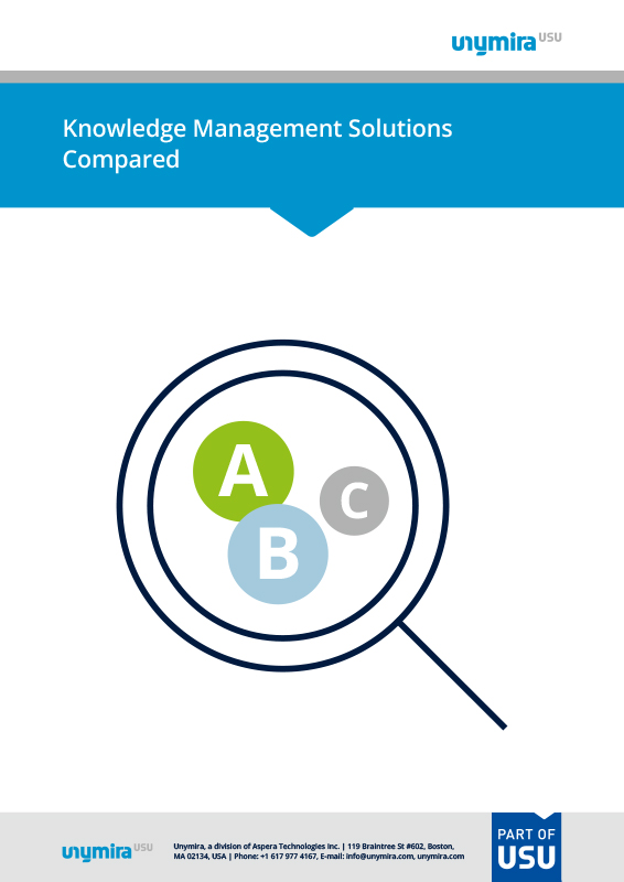 Knowledge Management Solutions Compared
