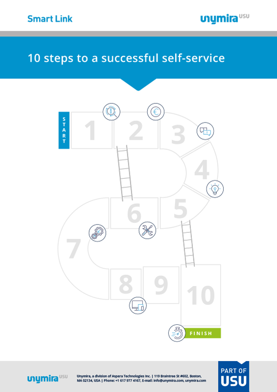 Infographic - 10 Steps to Successful Self Service