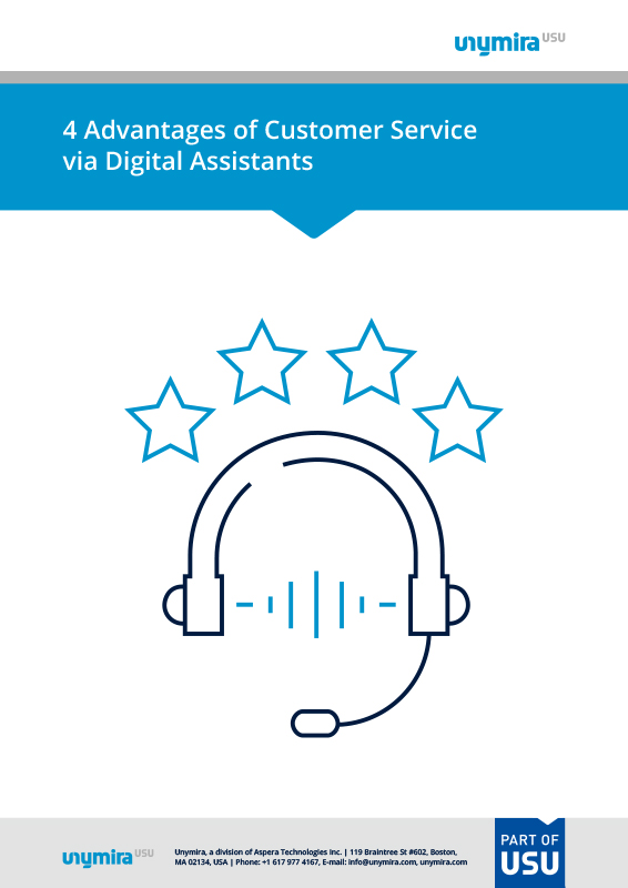 4 Advantages of Voice Assistants in Customer Service
