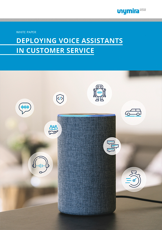 Whitepaper deploying voice assistants in customer service