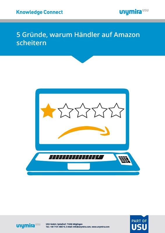 Infografik Gründe warum Händler auf Amazon scheitern