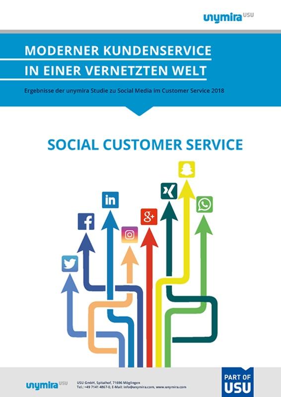Studie Social Media im Customer Service