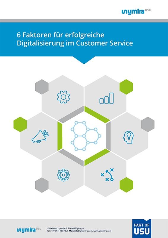 Infografik 6 Erfolgsfaktoren für Digital Strategy