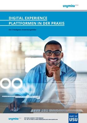 eBook Anwendungsfelder Digital Experience Plattformen