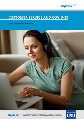 Customer Service while Working from Home