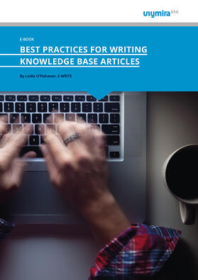 Ebook Best Practices for Writing Knowledge Base Articles